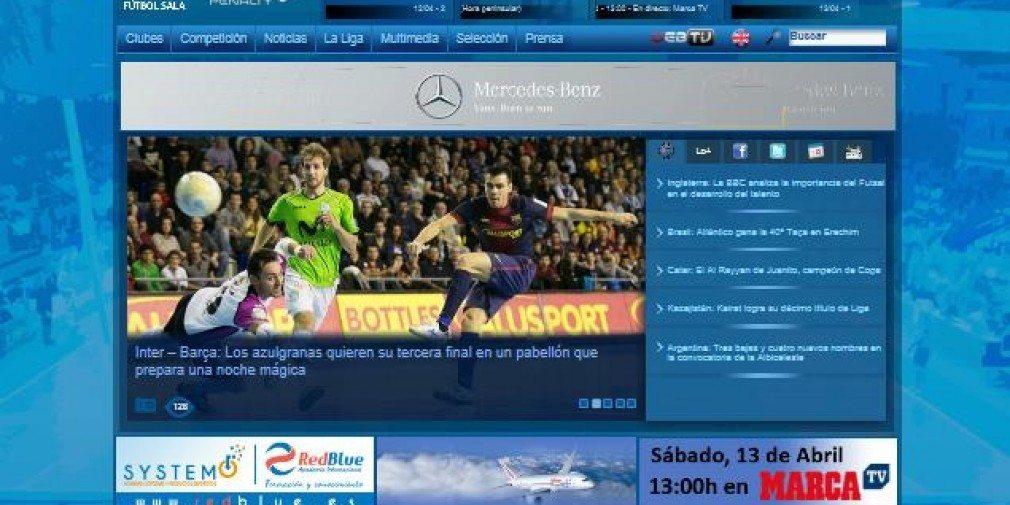 Liga Nacional de Futbol Sala – webtv -ppv