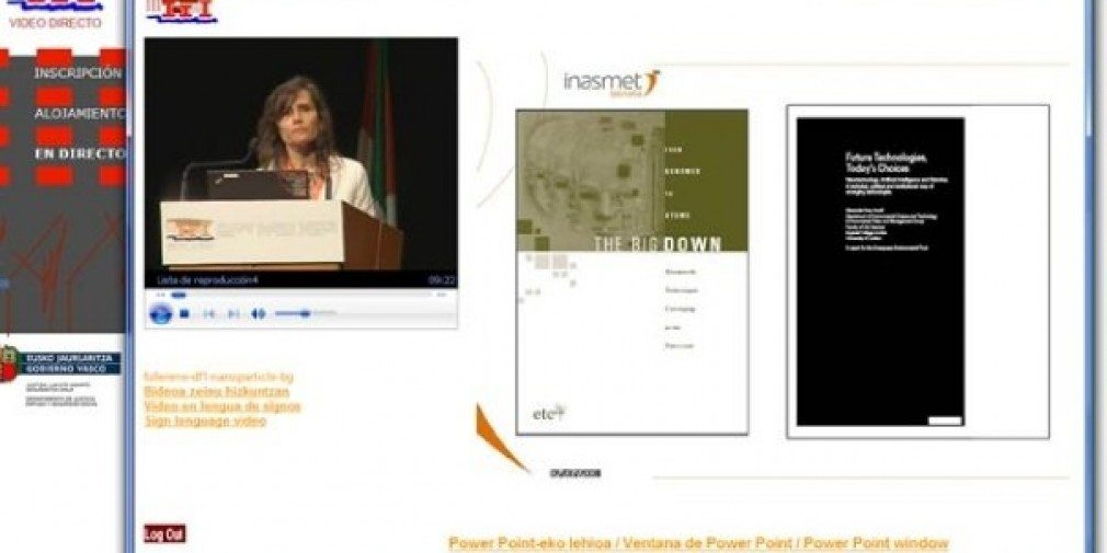 Live streaming / on demand / conferencias